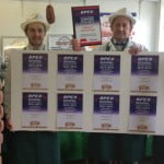 Hampshire Farmers' Market producer Greenfield Pork Scoops Eight Gold Awards
