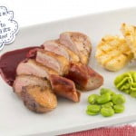 Alex's Duck Breasts with Redcurrant Jus