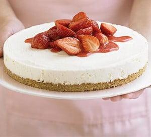 strawberry-cheescake