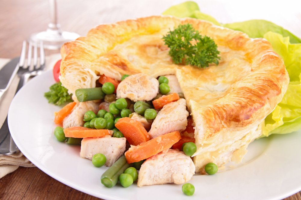 Chicken And Vegetable Pie Hampshire Farmers Markets