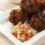 Courgette Bhajis