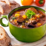 Goat Stew with Apple and Cinnamon