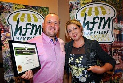 Outstanding Contribution Award Winners from Secretts Vladimir & Tanyia Mirov