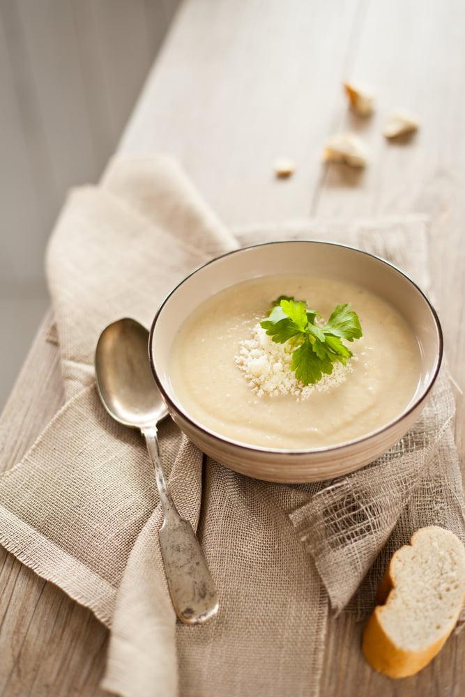Apple & Celeriac Soup