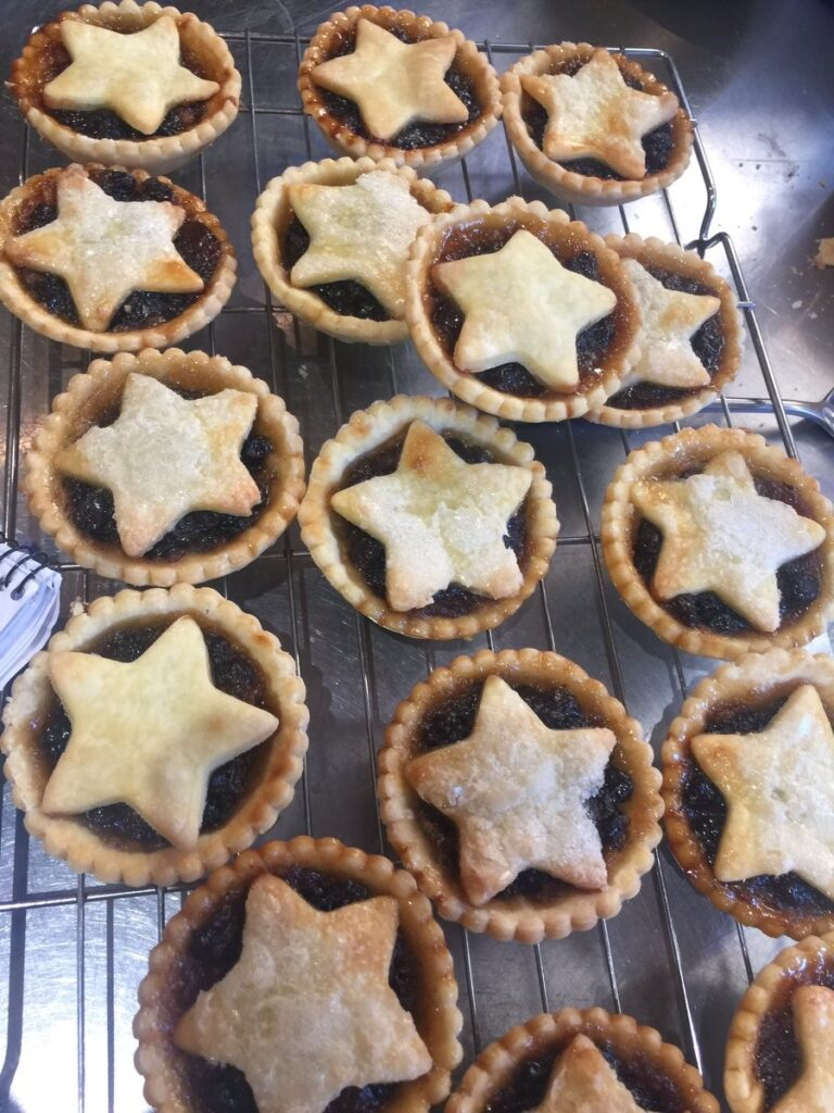 Hampshire mince pies