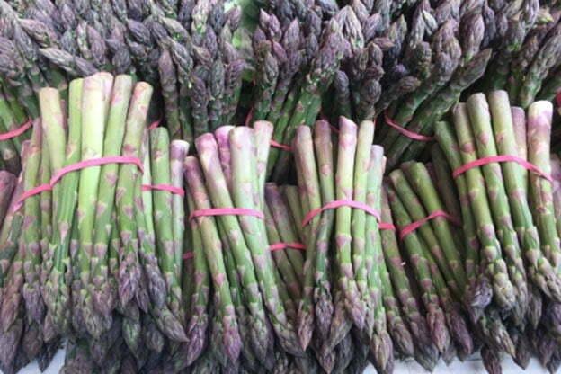 Asparagus from Durleigh Marsh Farm Shop